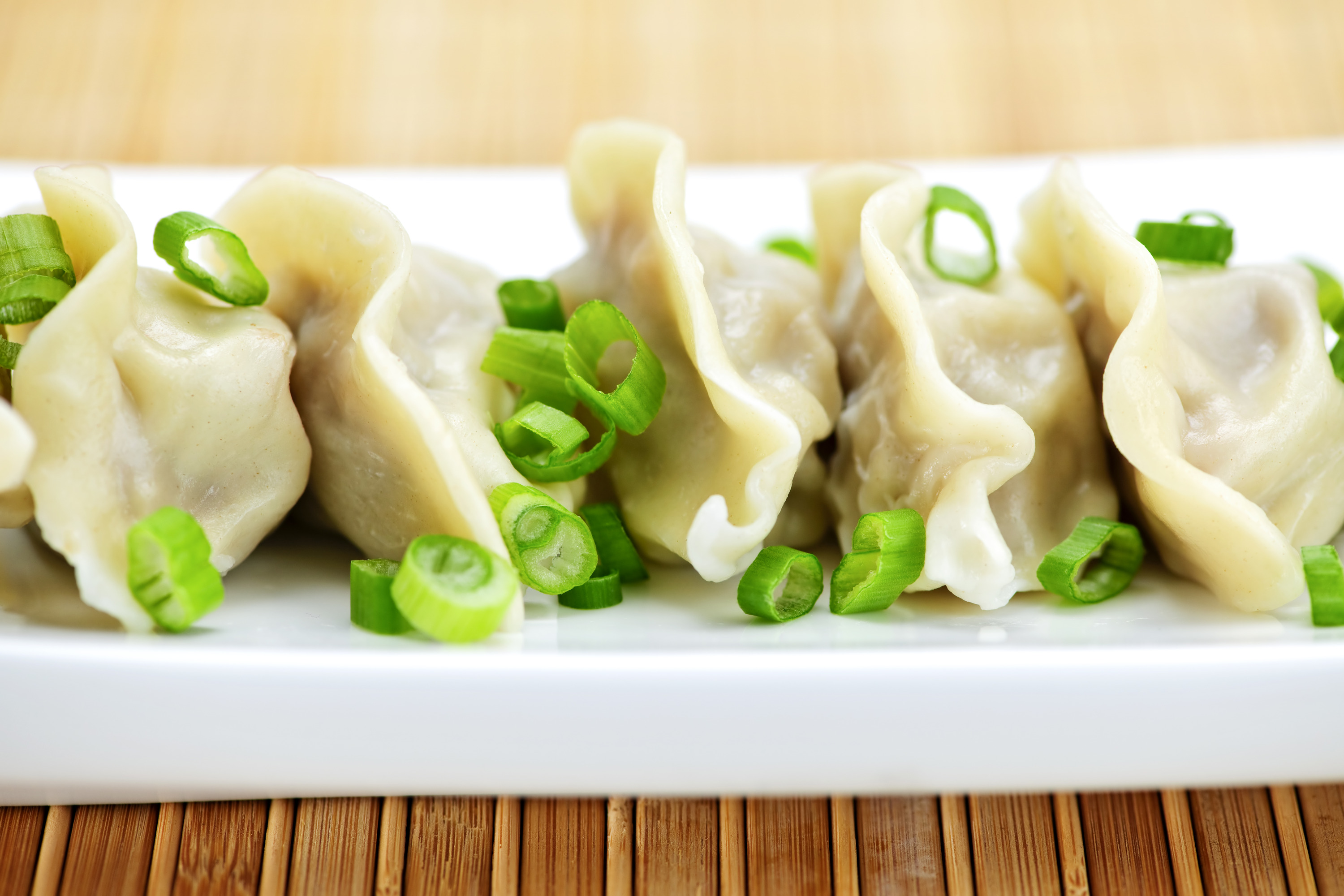Five spice dumplings
