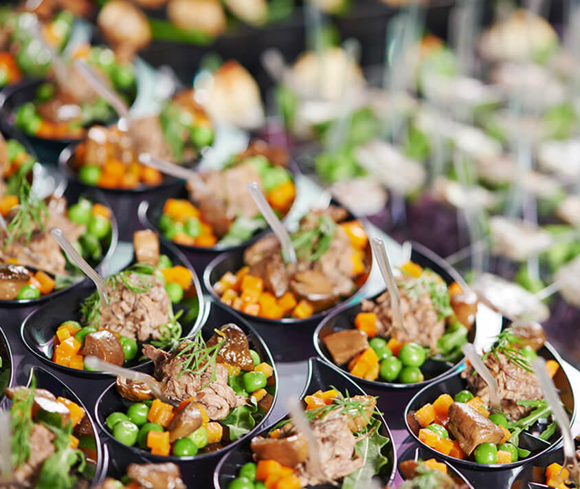 Asian Wedding Food Menu: Best Finger Food Catering Montreal